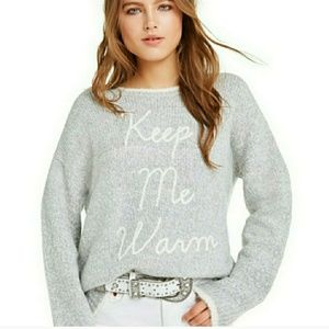 "WILDFOX ""Keep Me Warm"" Chunky Sweater! Sz: S"